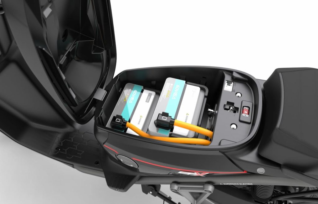 Super Soco CPx batteries