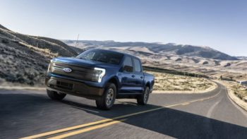 What you get on the entry-level Ford F-150 Lightning Pro model