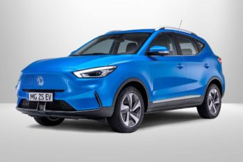 2022 MG ZS EV facelift features new design, offers higher range