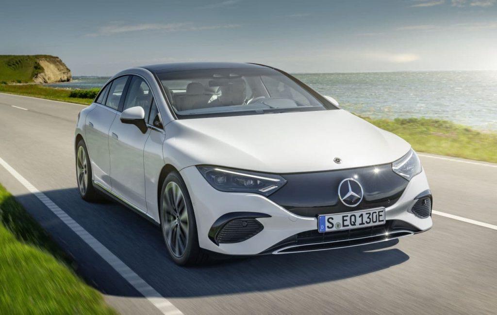 2023 Mercedes-Benz EQE Electric Art front