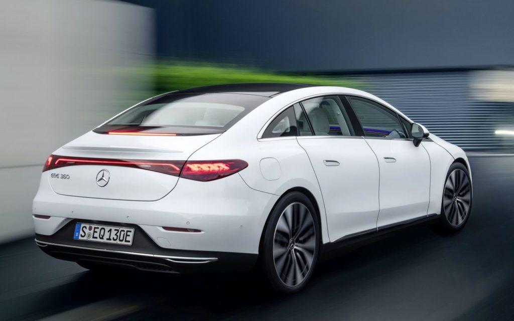 2023 Mercedes-Benz EQE Electric Art rear