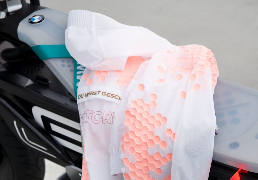 BMW Concept CE 02 riding gear