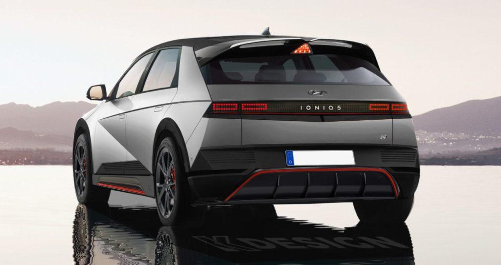 Hyundai Ioniq 5 N KDesign AG rear