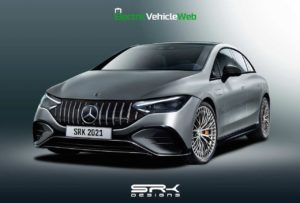 Mercedes-AMG EQE 53 4MATIC+ rendering