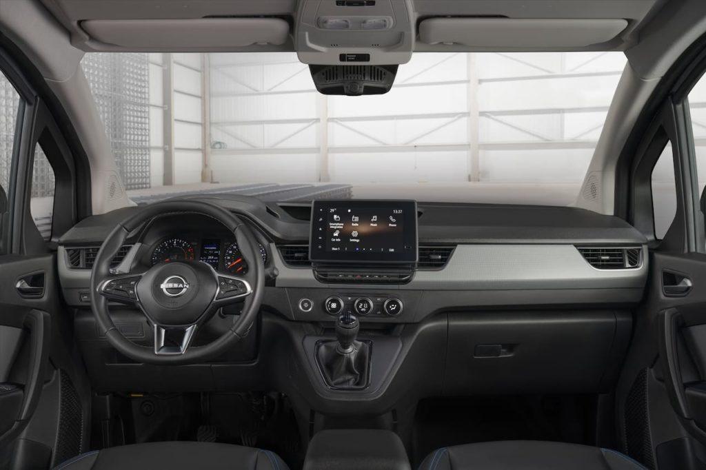 Nissan Townstar interior dashboard