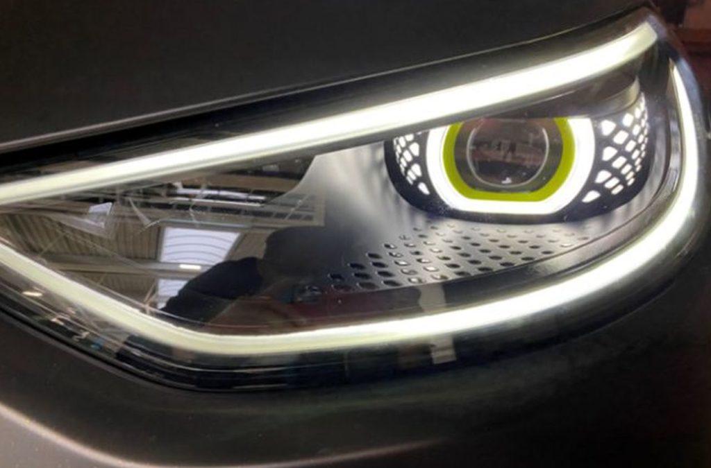 Volkswagen ID X Concept headlamp