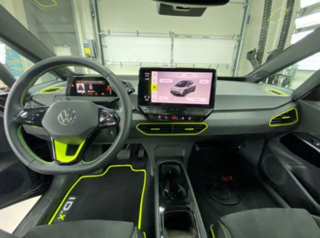 Volkswagen ID X Concept interior